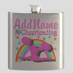 CHEERLEADING STAR Flask