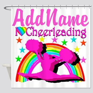 CHEERLEADING STAR Shower Curtain
