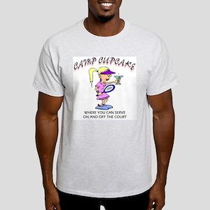 Camp Cupcake Serve Ash Grey T-Shirt