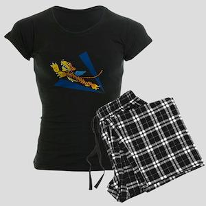 flying_tiger_avg Women's Dark Pajamas
