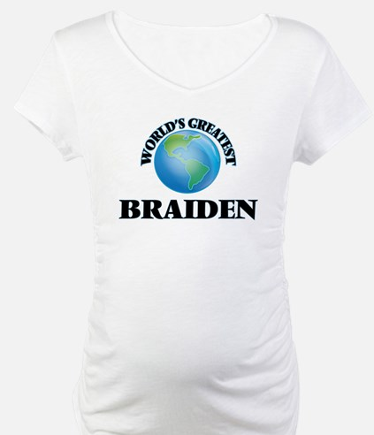World's Greatest Braiden Shirt