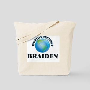 World's Greatest Braiden Tote Bag