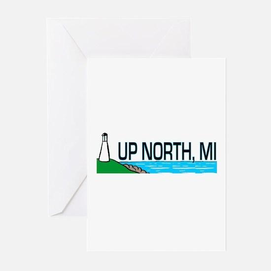 Up North, Michigan Greeting Cards (Pk of 10)