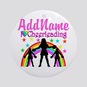 LOVE CHEERING Ornament (Round)