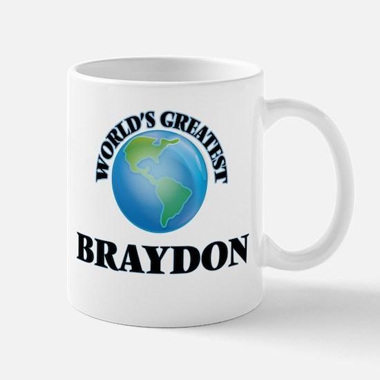 World's Greatest Braydon Mugs