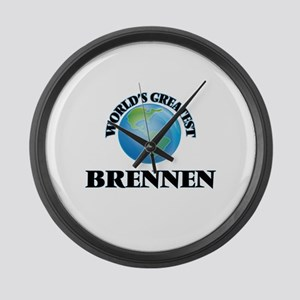 World's Greatest Brennen Large Wall Clock