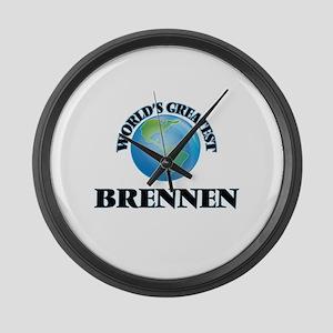 World's Greatest Brennen Large Wall Clock