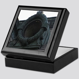 Round Window Keepsake Box