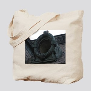 Round Window Tote Bag