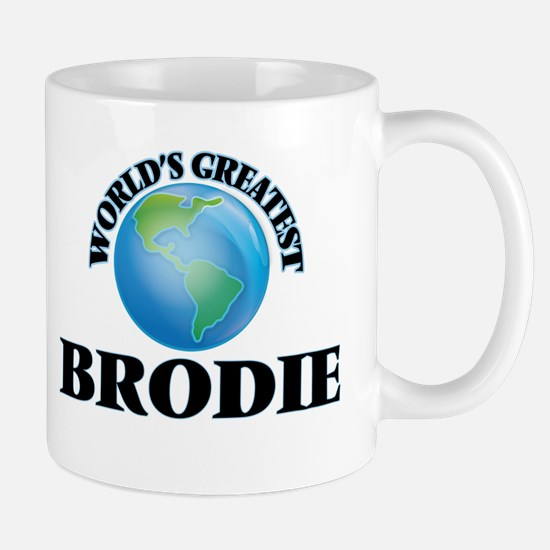 World's Greatest Brodie Mugs