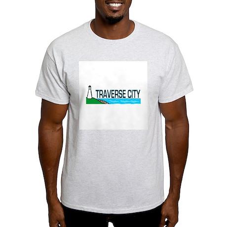 Traverse City, Michigan Light T-Shirt
