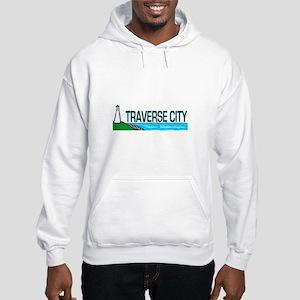 Traverse City, Michigan Hooded Sweatshirt