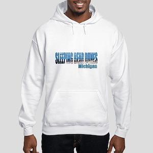 Sleeping Bear Dunes, Michigan Hooded Sweatshirt