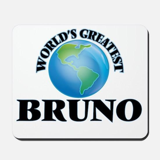 World's Greatest Bruno Mousepad