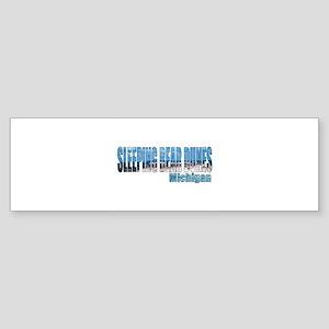 Sleeping Bear Dunes, Michigan Bumper Sticker