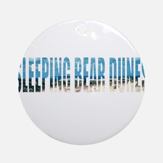 Sleeping Bear Dunes Ornament (Round)