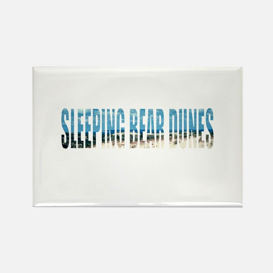 Sleeping Bear Dunes Rectangle Magnet