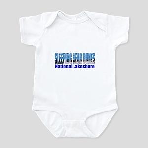 Sleeping Bear Dunes National Infant Bodysuit