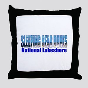 Sleeping Bear Dunes National Throw Pillow