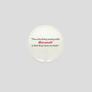 Tasteless Microsoft Mini Button