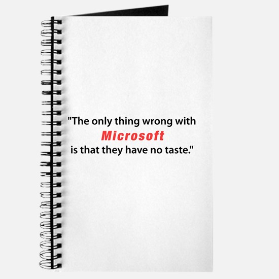 Tasteless Microsoft Journal