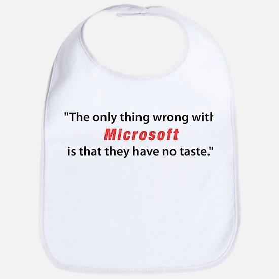 Tasteless Microsoft Bib