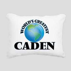 World's Greatest Caden Rectangular Canvas Pillow