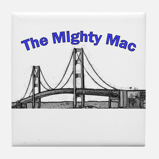 The Mighty Mac Tile Coaster