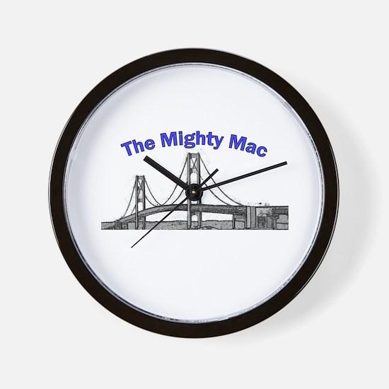 The Mighty Mac Wall Clock