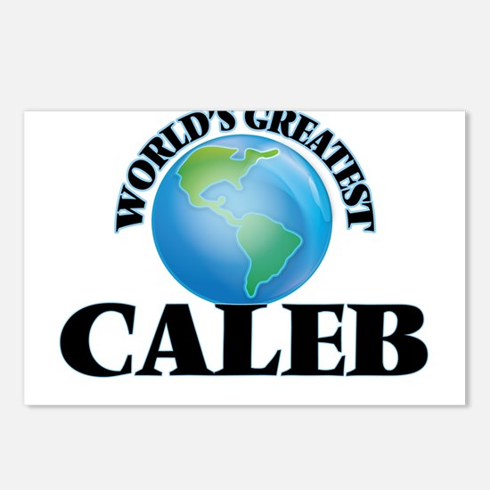 World's Greatest Caleb Postcards (Package of 8)