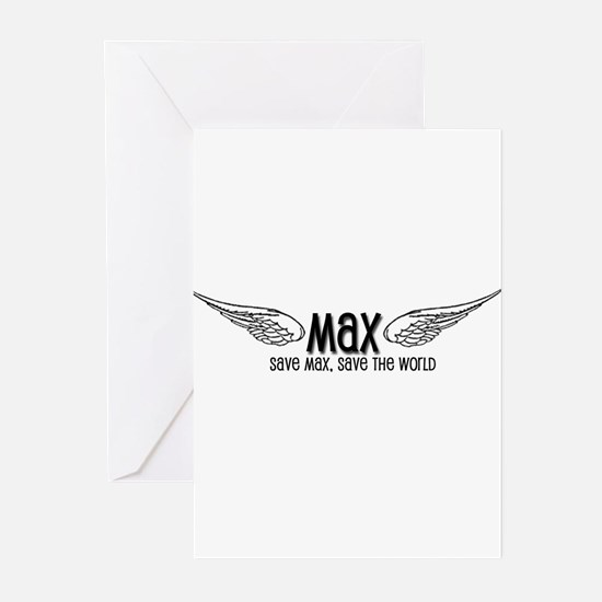 Max- Save Max, Save the World Greeting Cards (Pack