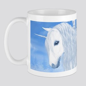 The White Unicorn Mugs