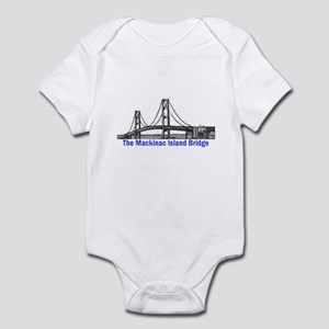 The Mackinac Bridge Infant Bodysuit