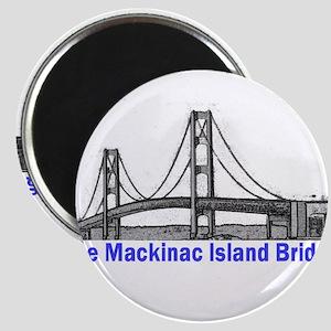 The Mackinac Bridge Magnet