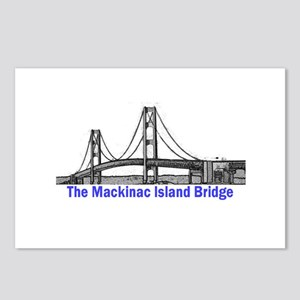 The Mackinac Bridge Postcards (Package of 8)