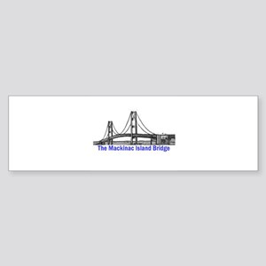 The Mackinac Bridge Bumper Sticker