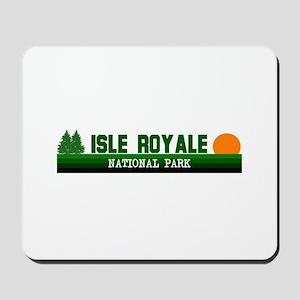 Isle Royale National Park Mousepad