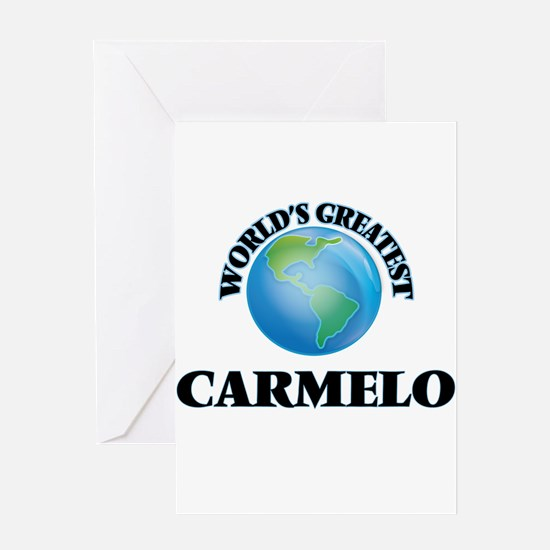 World's Greatest Carmelo Greeting Cards