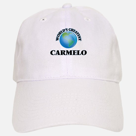 World's Greatest Carmelo Baseball Baseball Cap