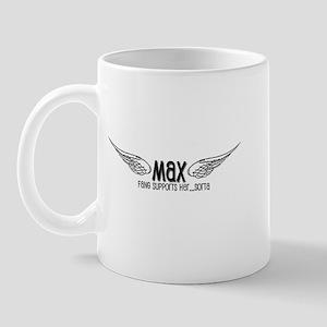 Max-Fang supports her, sorta Mug