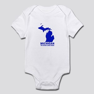 Michigan . . . The Great Lake Infant Bodysuit
