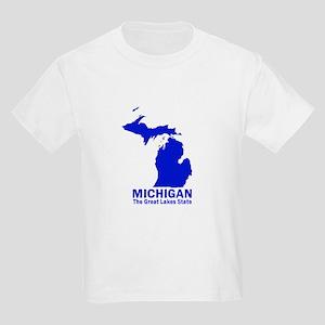 Michigan . . . The Great Lake Kids Light T-Shirt