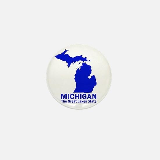 Michigan . . . The Great Lake Mini Button