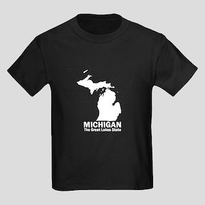 Michigan . . . The Great Lake Kids Dark T-Shirt