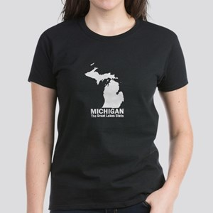 Michigan . . . The Great Lake Women's Dark T-Shirt