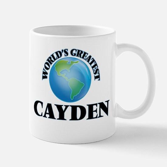 World's Greatest Cayden Mugs