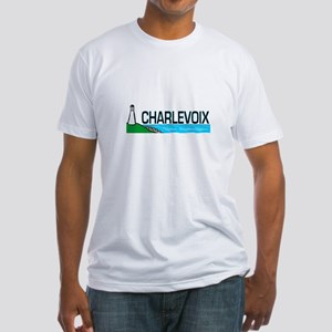Charlevoix, Michigan Fitted T-Shirt
