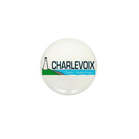 Charlevoix, Michigan Mini Button (10 pack)