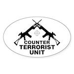 CTU Oval Sticker
