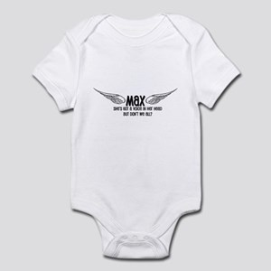 Max Has a Voice in Her Head Infant Bodysuit